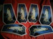 Lighthouse Touch Lamp Ok Lighting Replacement Panel Glass Shade. Set Of 6