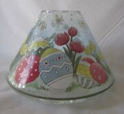 Yankee Candle Easter Crackle Large Jar Shade 1664251 Crackle Glass New