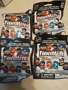 Nhl Series 4 Teenymates Lot Of 4 Sealed Packs New Free Shipping