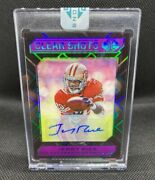 2020 Jerry Rice Illusions Clear Shots Autograph 1 Of 1 49ers Hof Wr