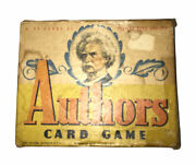 Vintage Authors Card Game 3010 Whitman Publishing Co. Rare - Missing 1 Card