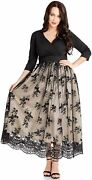 Grapent Womenand039s Plus Size Sequin 3/4 Sleeves Evening Gown Party Long Maxi Dress
