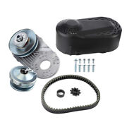 Go Kart Torque Converter Kit 1in Clutchs 12t+10t 40/41chain For 8hp-13hp Engine
