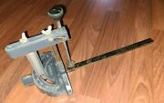 """Craftsman 113. Table Saw Miter Gauge With Hold-down Clamp 17 1/2"""" X 3/4"""" X 3/8"""
