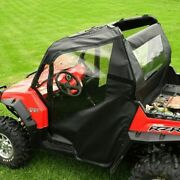 Soft Doors And Rear Window For Polaris Rzr 570 , 800 , S 800 , Xp 900