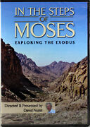In The Steps Of Moses New Dvd Exploring The Exodus Documentary David Nunn