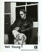 Neil Young Signed Autograph 8x10 Photo - Crazy Horse Buffalo Springfield Csny