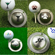 Multifuctional Stainless Golf Ball Line Liner Marker Template Alignment Tool