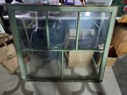 Antique 1930and039s 5 Pane Wood Frame Window 35x40
