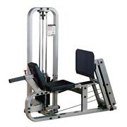 Pro Clubline Leg Press By Body-solid Slp500g/2 210 Lb Weight Stack