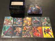 Marvel Masterpieces Series 1 Skybox 1992 Factory Tin W/ Set 10 Exclusive Cards