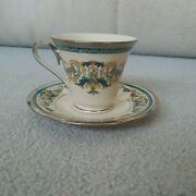 Lenox Fair Lady Pattern Tea Cup And Saucer Set Discontinued Displayed Only
