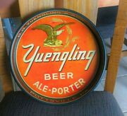 Vintage Yuengling Beer - Brewing Co 13 Metal Tin Litho Eagle Tray Pottsville Pa