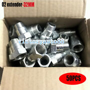 50x 32mm O2 Oxygen Sensor Extender Adapter Extension Spacer Hho Bung Test Pipe