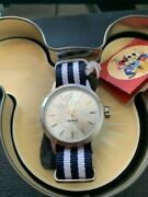 Ingersoll Disney Watch Silver Dial With Blue And White Strap