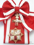 Spain - Order Of Air Force Merit Grand Cross Red Distinction With Sash