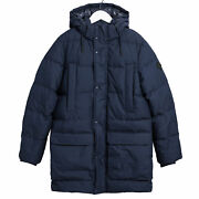 Gant The Long Alta Down Mens Jacket - Evening Blue All Sizes