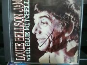Louie Bellson Jam With Blue Mitchell Cd Extremely Rare Signed By Louie Bellson