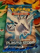Plasma Storm Factory Sealed Unweighed Booster Pack Pokemon Cards Black And White