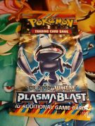 Plasma Blast Factory Sealed Unweighed Booster Pack Pokemon Cards Black And White