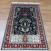 Yilong 3and039x5and039 Classic Handmade Carpet Hand Knotted Silk Tree Of Life Rug 331b