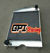 56mm Aluminum Radiator For Ford 2n/8n/9n Tractor W/ford 305 5l V8 Engine 1928-52