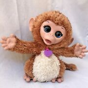 Furreal Friends Baby Cuddles My Giggly Monkey Talking Plush Toy Tested Working