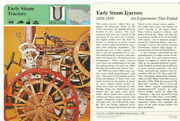 1979 Panarizon Story Of America 65.08 Early Steam Tractors