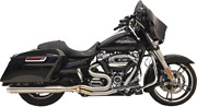 Bassani 2-1 Road Rage 3 Short Exhaust For 17-19 Harley Touring Flhr Flhx Flhrxs