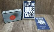 Eames1970 Computer House Of Cards Complete And Sealed