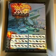 New Sealed 2003 Hot Wheels Factory-sealed Set 220 Cars Limited Edition 250