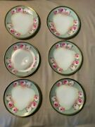 Royal Munich Z.s. And C. Dishes Plates - Lot Of 6 - Roses