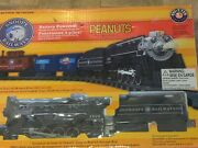 Peanuts Lionel Snoopy Railroad G-gauge 7-1148 Battery Operated Train Set Village