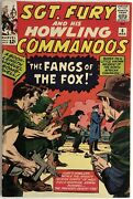 Sgt. Fury Howling Commandos No.6 1964 Jack Kirby Fn/vf