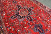 7and0397 X 11and0395 Durable Geometric Azerbaijani Hand Knotted Wool Area Rug 8x11 Carpet