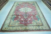 Turkish Rug 6.5x9.8faded Rugantique Rugvintage Rughand Knotted Rugwool Rug.