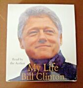 My Life By Bill Clinton 2004, Cd, Abridged 6 Cds Audiobook Sealed