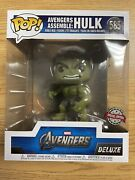 Funko Pop Marvel Avengers Assemble Hulk Special Edition In Hand