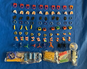 95 Pcs Plastic Gumball Charms Trinkets Prizes Toys Retired Nos