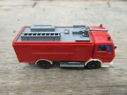 Made In Germany Mercedes Fire Truck Wiking N Scale 3