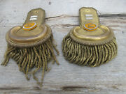 Rare And Historic Pair Of Pre-civil War Epaulettes For A 2nd Cavalry Officer