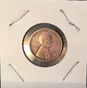 1929 Abraham Lincoln Wheat Copper Penny With No Mint Mark Extremely Rare