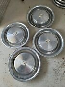 Used Set Of 4 Vintage Cadillac Hubcaps 15 Part 03514782