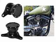 Motor Velocity Stack Air Cleaner Intake Filter For Harley Sportster Xl Super Low