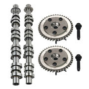 Left+right Camshaft And 2timing Cam Phasers Vvti Actuator W/ Bolt For Ford F150