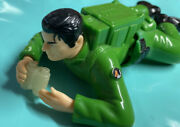 Action Man Soldier Wind-up Crawling Toy 6 Figure Hasbro 1990's Working