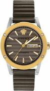 Versace Menand039s Watch Wristwatch Theros Automatic Eta Vedx002 19