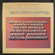 Various Great American Composers Pt. 2 Longines 12 Lp 33 Rpm Sealed