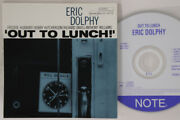 Cd Eric Dolphy Out To Lunch Tocj9079 Blue Note Japan