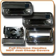 95 96 97 98 Chevy Gmc Pu Pickup Truck Chrome Door And Tailgate Complete Handle Set